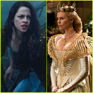 Kristen Stewart & Charlize Theron: New 'Snow White' Stills!