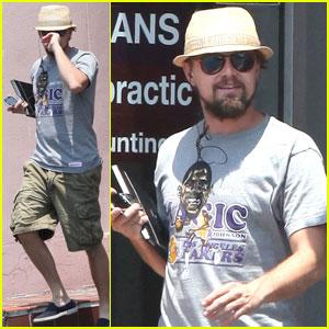 Leonardo DiCaprio: Chiropractor Visit in New Orleans
