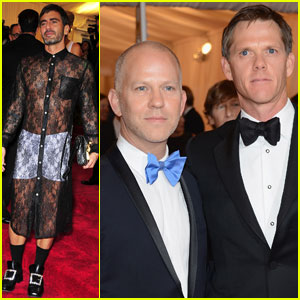 Marc Jacobs &#038; Ryan Murphy - Met Ball 2012
