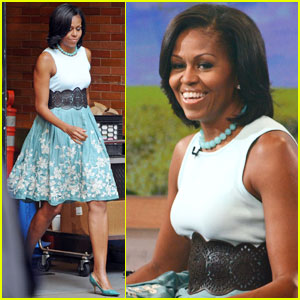Michelle Obama: President & I Don't Like Beets