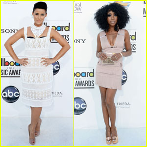 Nelly Furtado and Brandy hit the 2012 Billboard Music Awards held at