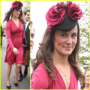 Pippa Middleton: Friends' Wedding in Scotland