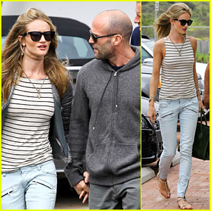 Rosie Huntington-Whiteley & Jason Statham: Malibu Mates!