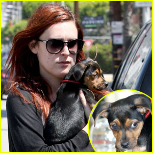 Rumer Willis: Help Me Name My Dog!