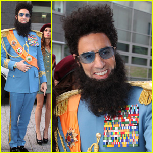 Sacha Baron Cohen: 'The Dictator' German Premiere!