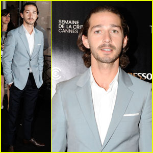 Shia LaBeouf: 'Howard Cantour.com' Cannes Photo Call