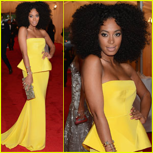 Solange Knowles: Met Ball 2012 with Rachel Roy