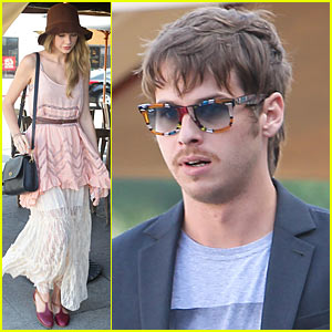 Taylor Swift & Mark Foster: Kings Road Cafe!