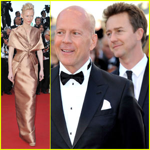 Tilda Swinton: 'Moonrise Kingdom' Premiere at Cannes!