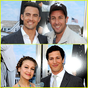 Adam Sandler & Andy Samberg: 'That's My Boy' Premiere!