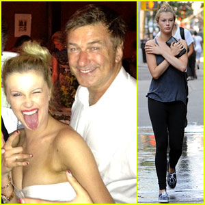 Alec Baldwin & Daughter Ireland Party Before Wedding!