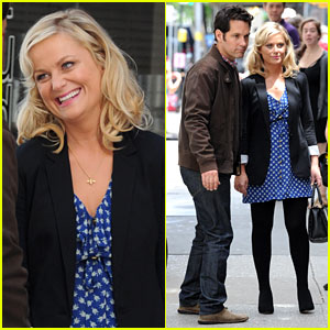 Amy Poehler: 'They Came Together' Set with Paul Rudd!
