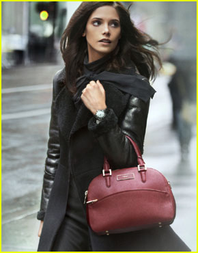 Ashley Greene's DKNY Fall 2012 Campaign - Sneak Peek!