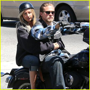 Ashley Tisdale &#038; Charlie Hunnam: 'Sons of Anarchy' Set!