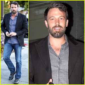Ben Affleck: Solo Stroll on Anniversary