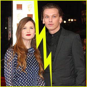 Jamie Campbell Bower & Bonnie Wright Split