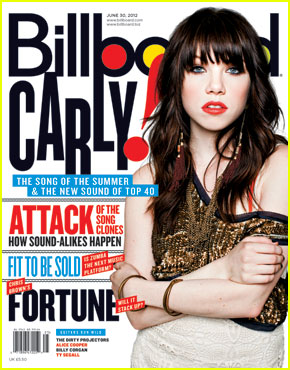 Carly Rae Jepsen Covers 'Billboard' Magazine