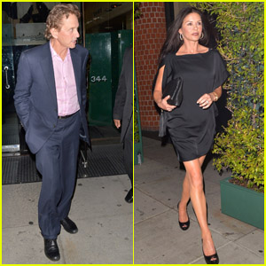 Catherine Zeta-Jones & Michael Douglas: Dinner Party!