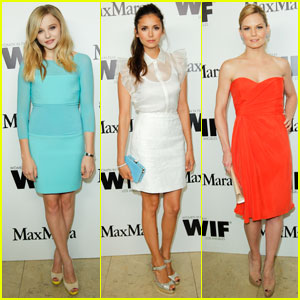 Nina Dobrev & Chloe Moretz: Max Mara Cocktail Party!