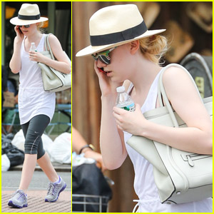 Dakota Fanning: Gym Gal!