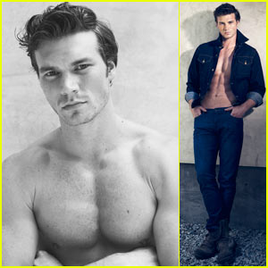 Derek Theler Photo Shoot - JustJared.com Exclusive!