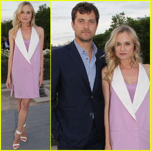 Diane Kruger & Joshua Jackson: Parisian Dinner Party!