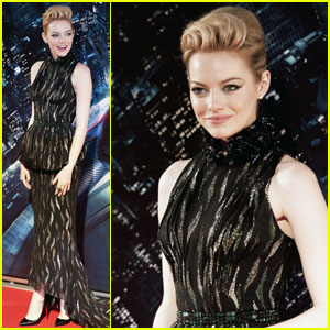 Emma Stone & Andrew Garfield: 'Spider-Man' Rome Premiere!