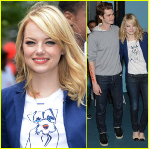 Andrew Garfield & Emma Stone: 'Be Amazing' & Volunteer!