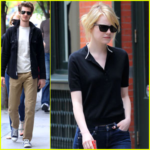 Emma Stone & Andrew Garfield: Big Apple Sweethearts