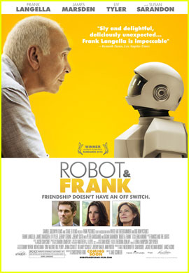 Frank Langella's 'Robot & Frank' Trailer - Watch Now!