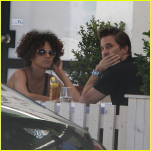 Halle Berry & Olivier Martinez: Fig & Olive Lunch! | Halle ...