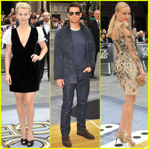 Tom Cruise & Julianne Hough: 'Rock of Ages' London Premiere!