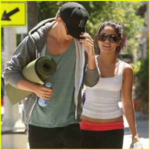 Vanessa Hudgens & Austin Butler: Wednesday Workout!