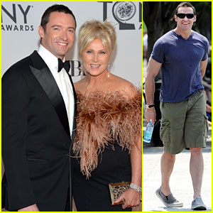 Hugh Jackman: Tony Awards 2012 with Deborra-Lee Furness!