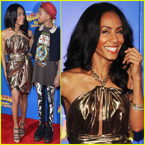 Willow & Jada Pinkett Smith: 'Madagascar 3' Premiere!