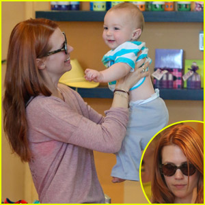 January Jones & Xander: Shoe Shopping!