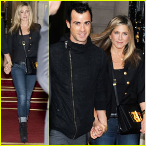 Jennifer Aniston & Justin Theroux: Le Stresa Dinner Duo