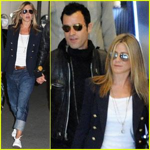 Jennifer Aniston & Justin Theroux: Paris Pair