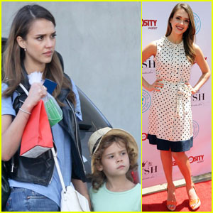 Jessica Alba: Plush Event 2012!