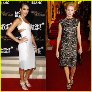 Jessica Alba & Naomi Watts: Montblanc Beijing Opening!