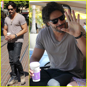 Joe Manganiello: 'Extra' Appearance!