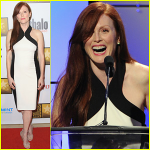 Julianne Moore: Critics' Choice Television Awards 2012!