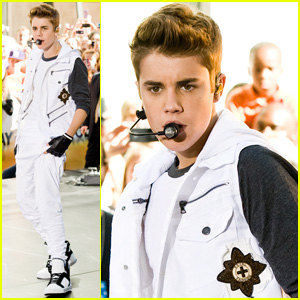 Justin Bieber: 'Today' Concert Takeover in Rockefeller Plaza!