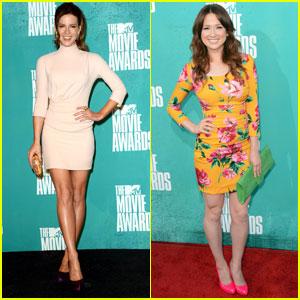 Kate Beckinsale & Ellie Kemper - MTV Movie Awards 2012