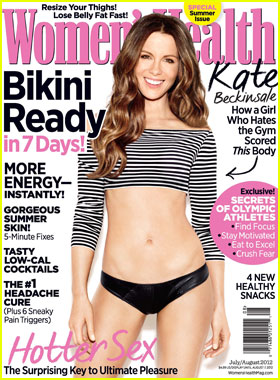 Kate Beckinsale: Toned Tummy on 'Women's Health' Cover!