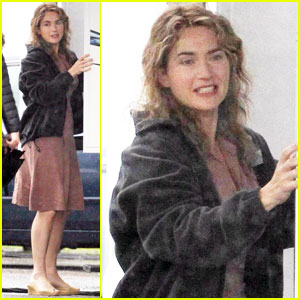 Kate Winslet: 'Labor Day' in Boston!