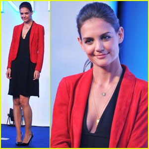Katie Holmes: Artistry on Ice Promo in Beijing!