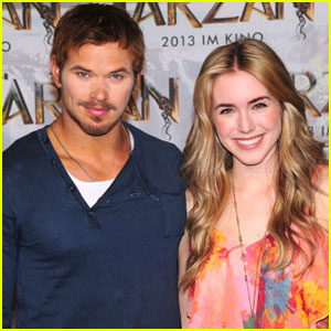Kellan Lutz: 'Tarzan' Photo Call with Spencer Locke!