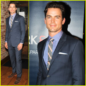 Matt Bomer: Most Stylish Dad Dinner!