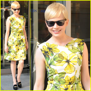 Michelle Williams Talks 'Take This Waltz' on 'CBS This Morning'
